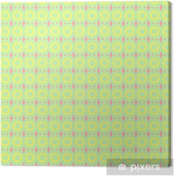 Obraz na płótnie Abstrakcyjna bez szwu geometryczny wzór - Tła