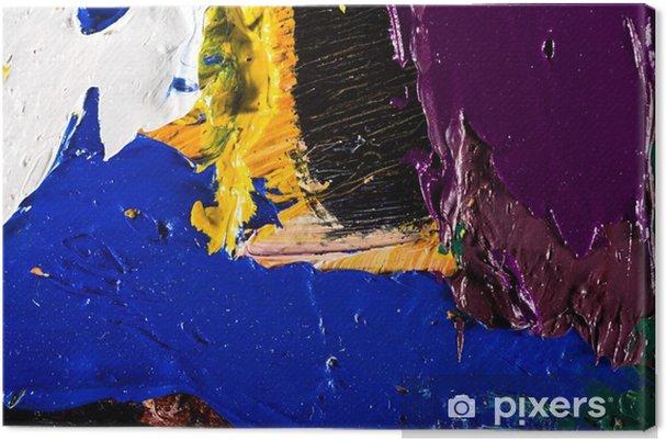 Obraz na płótnie Abstrakcyjna grafika malarstwo - Hobby i rozrywka
