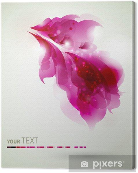 Obraz na płótnie Abstrakcyjne elementy magenta projektowania - Inne uczucia