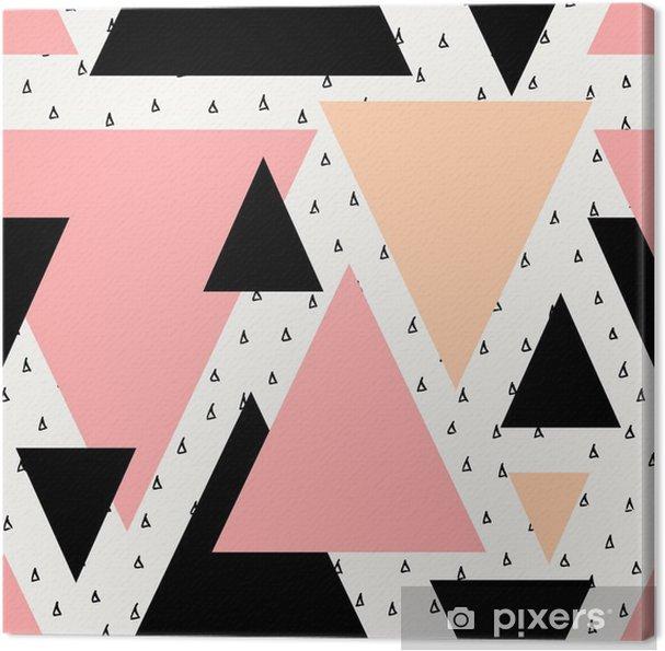 Obraz na płótnie Abstrakcyjne geometryczne powtarzalne wzór -