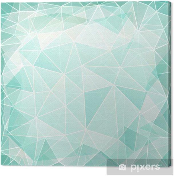 Obraz na płótnie Abstrakcyjne geometryczne tle - Święta Narodowe