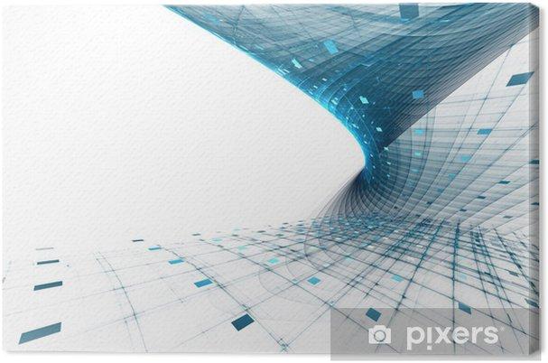 Obraz na płótnie Abstrakcyjne science biznesowych i technologicznych w tle - Tła