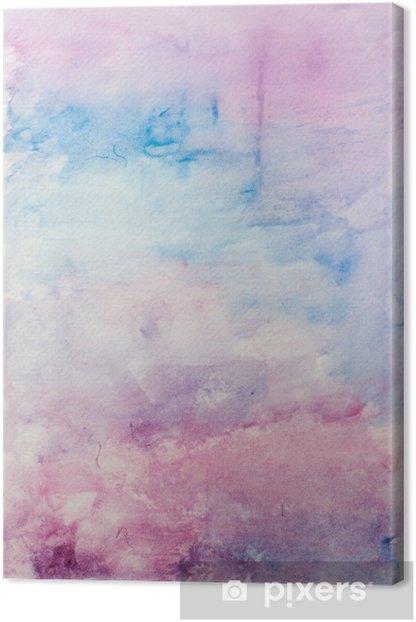 Obraz na płótnie Abstrakcyjne tło akwarela - Zasoby graficzne