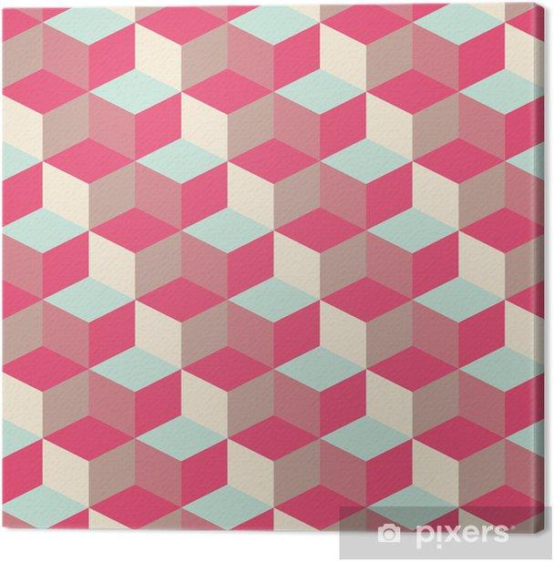 Obraz na płótnie Abstrakcyjne tło sześcienny geometryczny wzór - Tematy