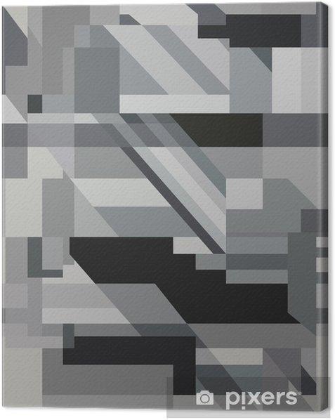 Obraz na płótnie Abstrakcyjne tło wektor eps monochromatyczne 8 - Tła