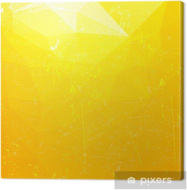 Obraz na płótnie Abstrakcyjne tło złoto - Sztuka i twórczość