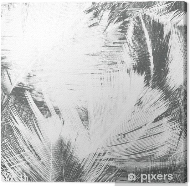 Obraz na płótnie Abstrakcyjne twórcze tło z pierza. - Zasoby graficzne