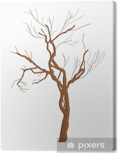 Obraz na płótnie Abstrakcyjny kształt martwe drzewo - Święta międzynarodowe