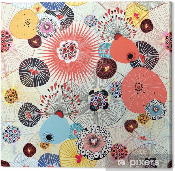 Obraz na płótnie Abstrakcyjny splot - Style