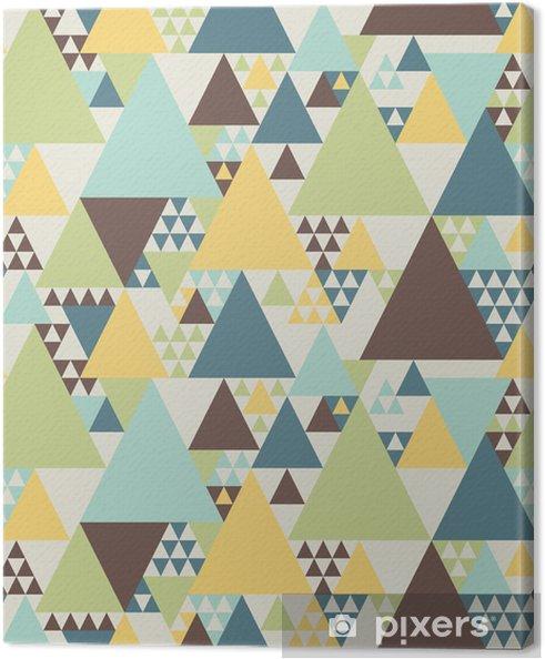 Obraz na płótnie Abstrakcyjny wzór geometryczny # 2 - Style