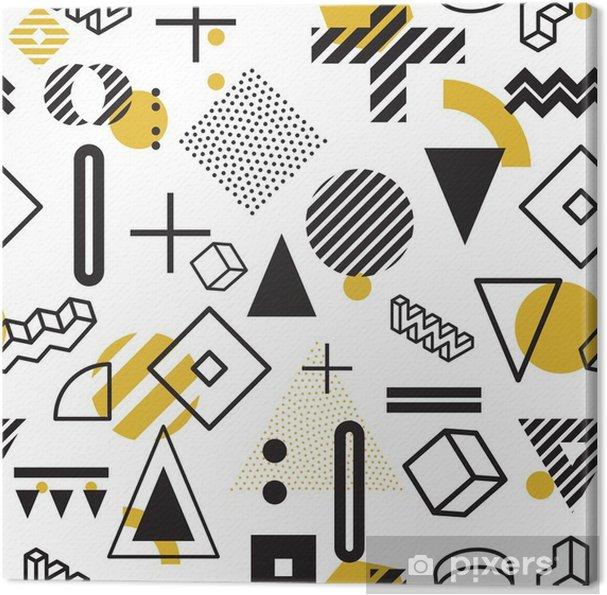 Obraz na płótnie Abstrakcyjny wzór powtarzalny - Zasoby graficzne