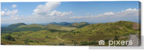 Obraz na płótnie Accès nord du Puy de Dome (GR4) - Góry