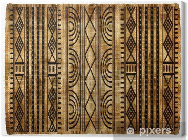Obraz na płótnie African dywan - Tekstury