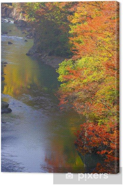 Obraz na płótnie Agatsuma Gorge - Pory roku