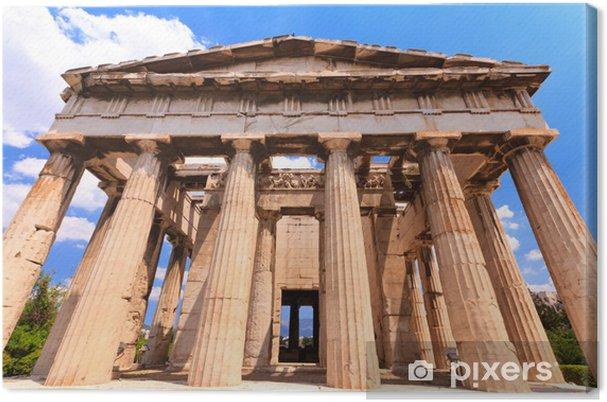 Obraz na płótnie Agora starożytnej świątyni w Atenach - Tematy