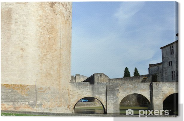 Obraz na płótnie Aigues Mortes we Francji - Wakacje