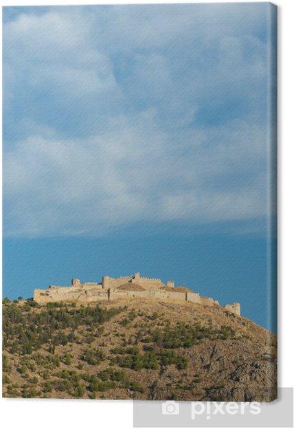 Obraz na płótnie Akropol starych Argos - Wakacje