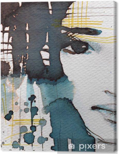 Obraz na płótnie Akwarele ilustracji - Style