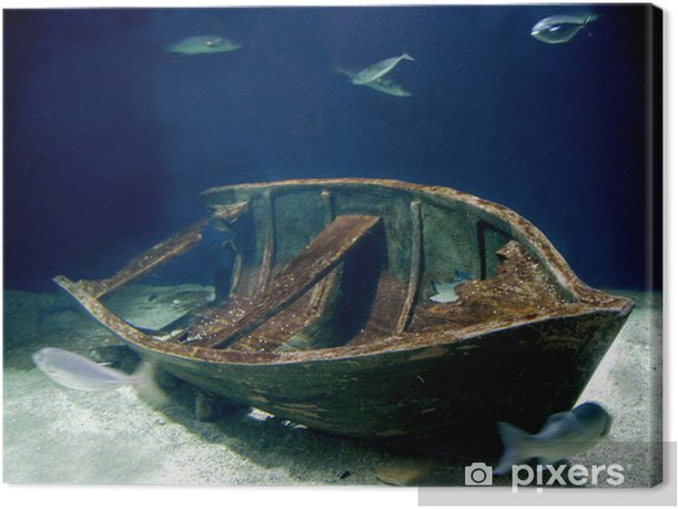 Obraz na płótnie Akwarium łódź - Transport wodny