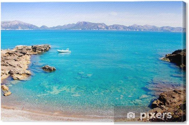 Obraz na płótnie Alcudia na Majorce la Victoria Turquoise Beach - Europa