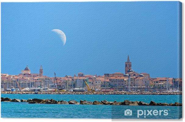 Obraz na płótnie Alghero i księżyc - Europa