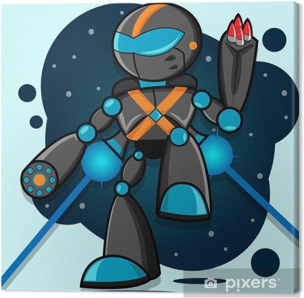 Obraz na płótnie Alien robota - Przeznaczenia
