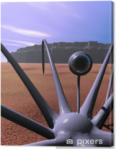 Obraz na płótnie Alien spider 3 - Natura i dzicz