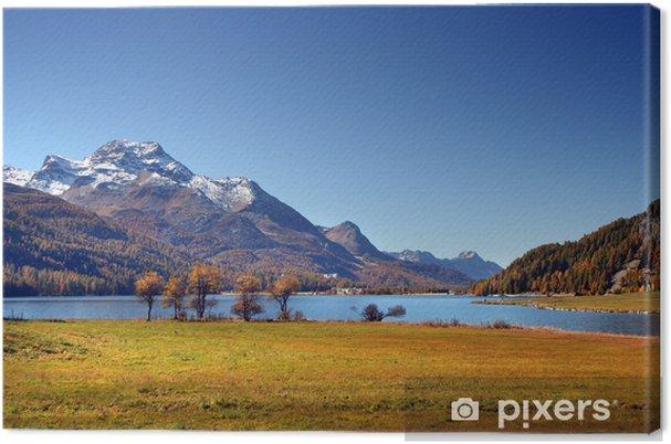 Obraz na płótnie Alpy szwajcarskie jesienią - Europa
