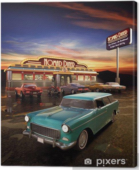 Obraz na płótnie American Diner - Style