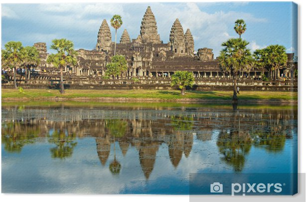 Obraz na płótnie Angkor Wat, Siem Reap, Kambodża. - Tematy