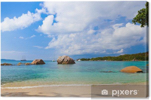 Obraz na płótnie Anse Lazio Beach - Seszele - Wakacje