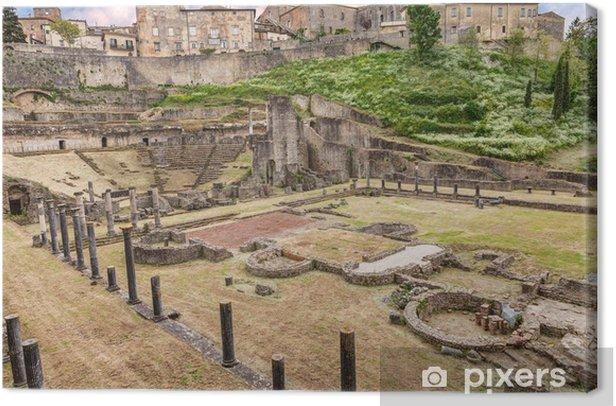 Obraz na płótnie Antyczny rzymski teatr w Volterra, Toskania, Włochy - Europa
