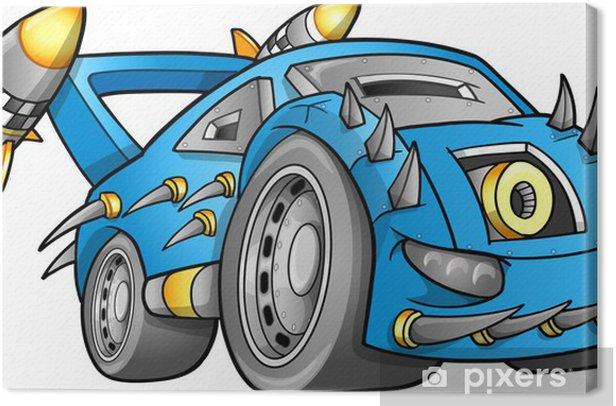 Obraz na płótnie Apocalyptic Wektor Car Vehicle - Transport drogowy