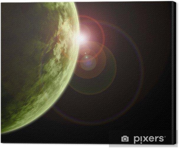 Obraz na płótnie Apokalipsa fantazja - Przestrzeń kosmiczna