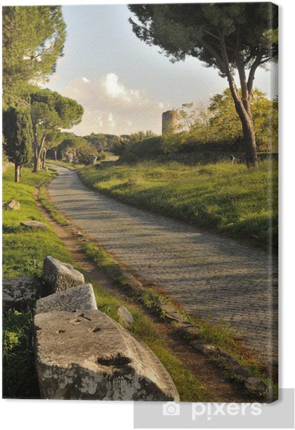 Obraz na płótnie Appian Way Street - Wakacje