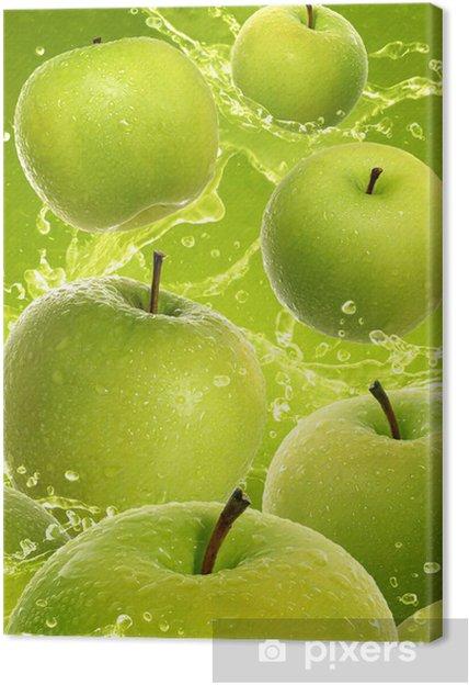 Obraz na płótnie Apple green - Owoce