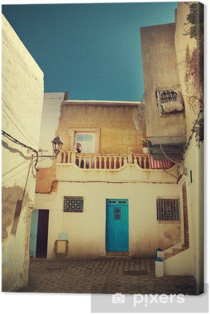 Obraz na płótnie Arabskiej ulicy - Afryka