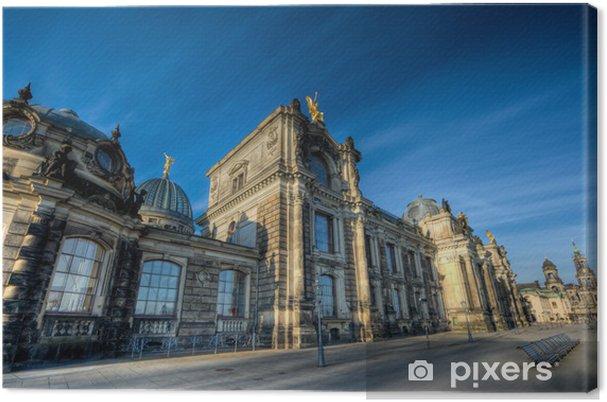 Obraz Na Płótnie Architektura Barokowa Dresden Pixers żyjemy