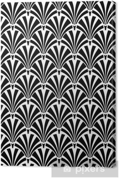 Obraz na płótnie Art Deco - Tła