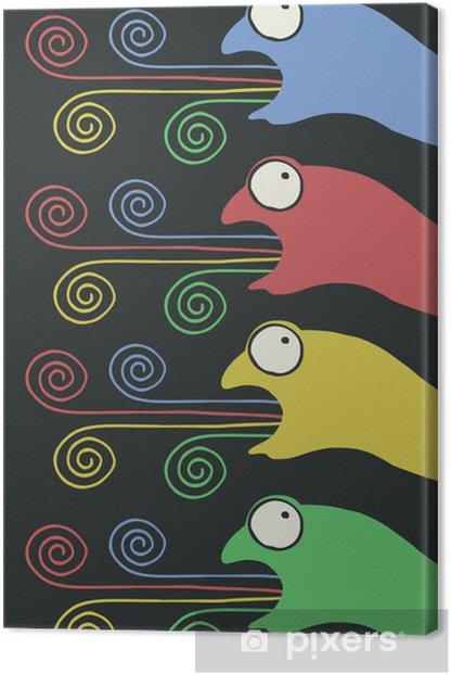 Obraz na płótnie Art kolor kameleon - Inne uczucia