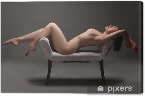 Obraz na płótnie Artystyczne nagie kobiety w studio - Tematy