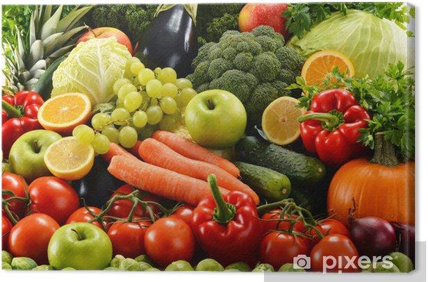 Obraz na płótnie Assorted surowe warzywa organiczne - Do kuchni