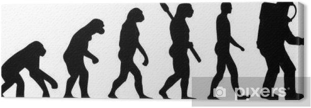 Obraz na płótnie Astronauta ewolucja - Nauka
