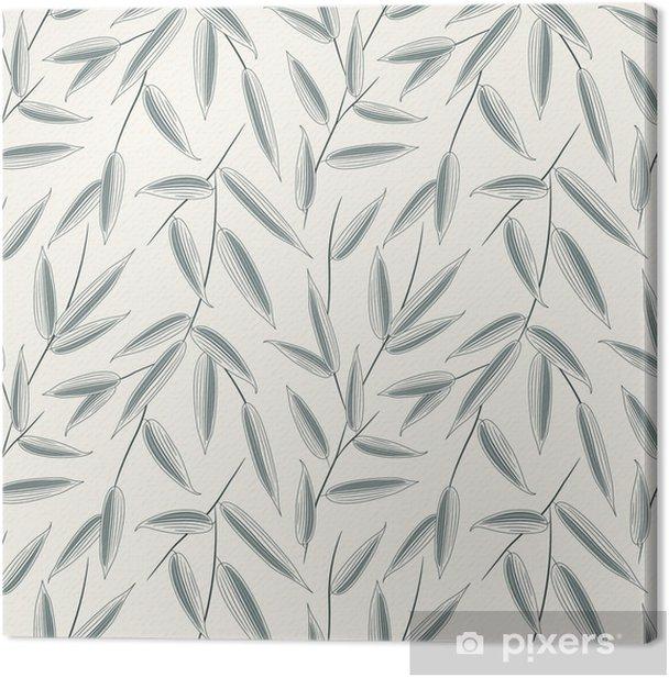 Obraz na płótnie Atrament bambusa na liście - Tematy