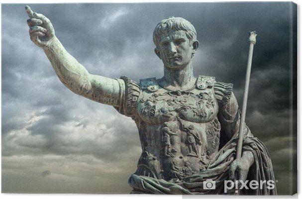 Obraz na płótnie August (Gaius Iulius Caesar Augustus Octavianus), Rzym - Włochy