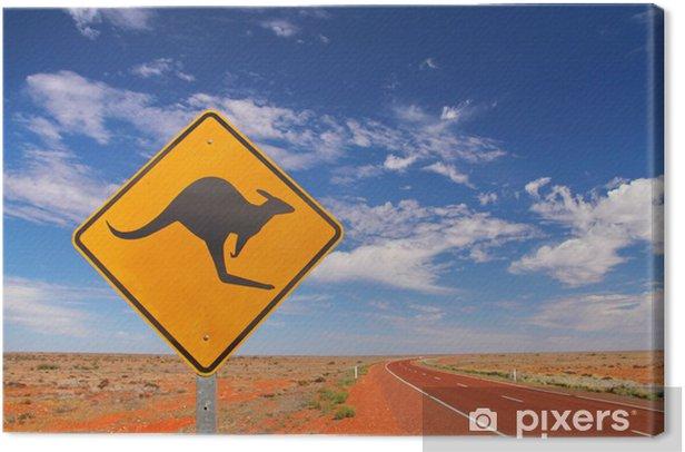 Obraz na płótnie Australian drogi niekończące - iStaging