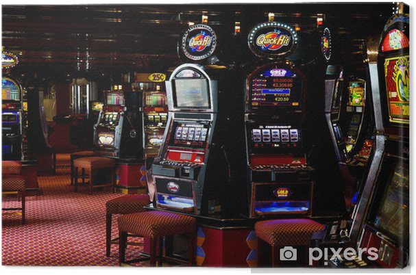 Obraz na płótnie Automat - Miasta amerykańskie