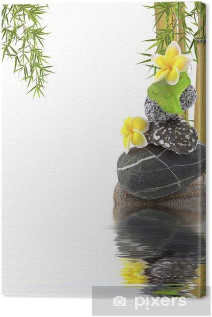 Obraz na płótnie Azjatycki bambus zen skład - Religie