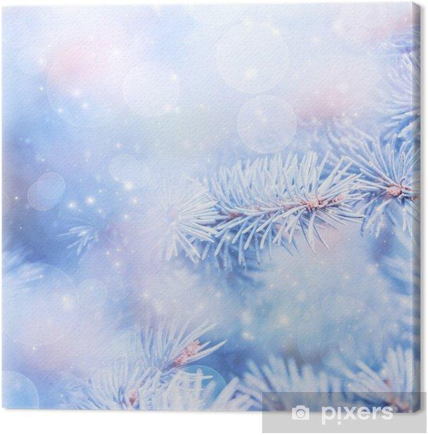 Obraz na płótnie Background zimowy - Pory roku