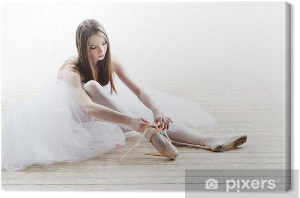 Obraz na płótnie Baleriny w klasycznej tutu - Balet